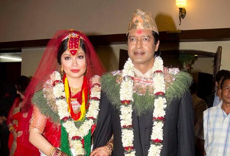 Rajesh Hamal Married to Madhu Bhattarai